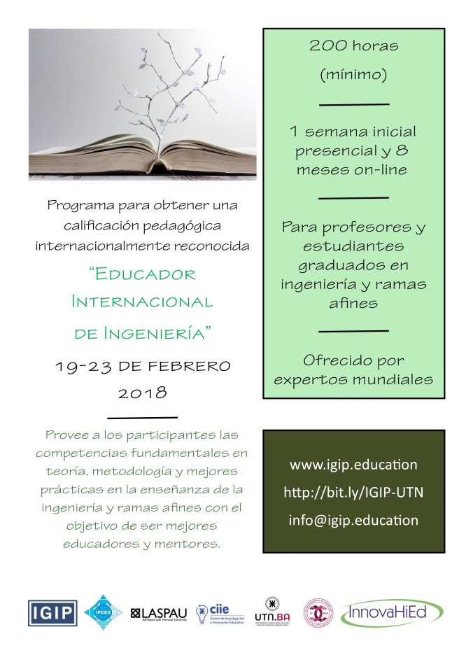 InnovaHied IGIP Certification Program Español