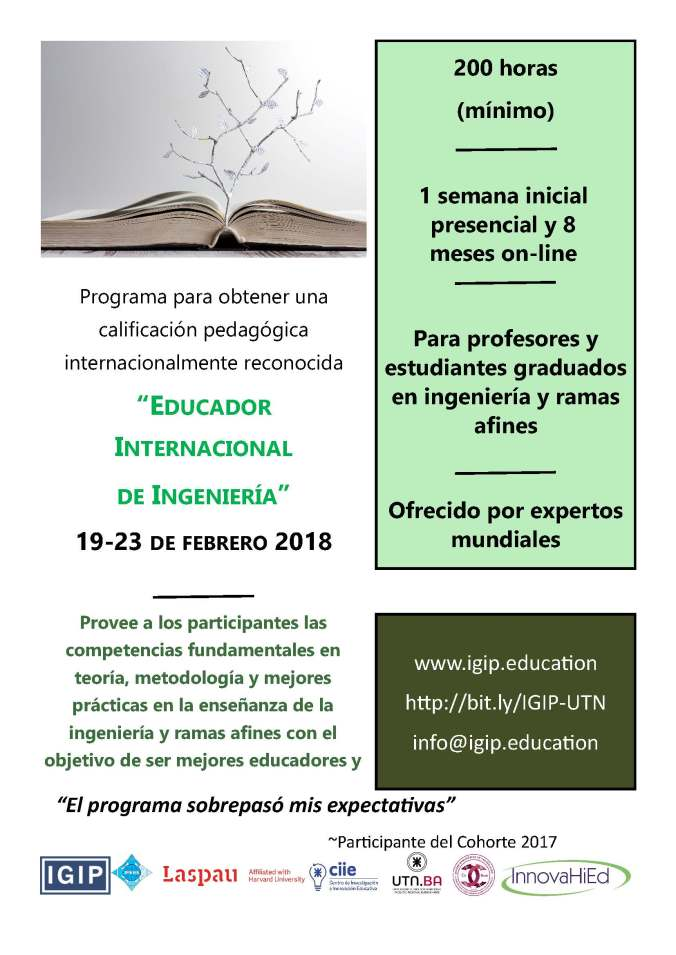 InnovaHied IGIP Certification Program Español Oct132017